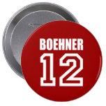 JOHN BOEHNER Election Gear 4 Inch Round Button