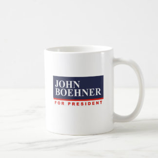 JOHN BOEHNER FOR PRESIDENT (Banner) Coffee Mug