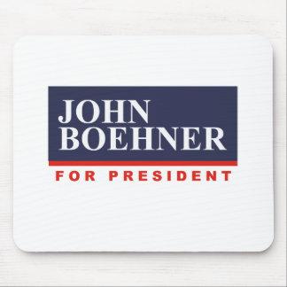 JOHN BOEHNER FOR PRESIDENT (Banner) Mouse Pad