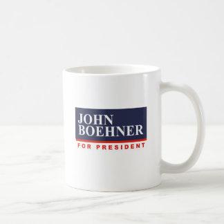 JOHN BOEHNER FOR PRESIDENT (Banner) Mugs