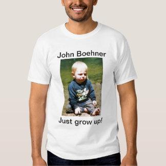 John Boehner - Just Grow Up! Tee Shirt