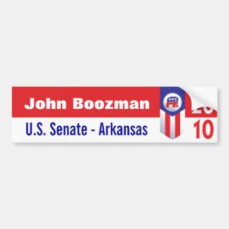 John Boozman U.S. Senate Arkansas Car Bumper Sticker