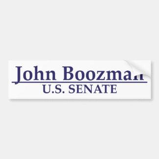 John Boozman U.S. Senate Car Bumper Sticker