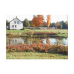 John Brown Farm Historic Adirondack Autumn Grave Canvas Prints
