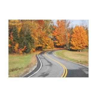John Brown Farm Historic Adirondack Autumn Grave Stretched Canvas Prints