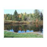John Brown Farm Historic Adirondack Autumn Grave Gallery Wrapped Canvas
