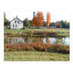 John Brown Farm Historic Adirondack Autumn Grave Postcard