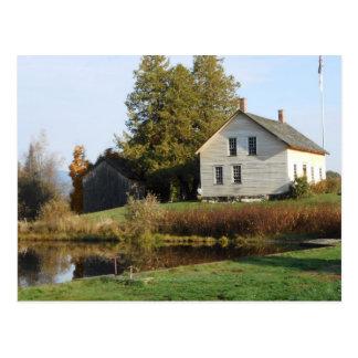 John Brown Farm Historic Adirondack Autumn Grave Post Cards