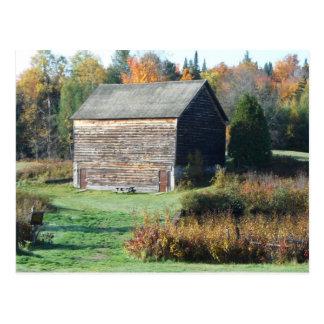 John Brown Farm Historic Adirondack Autumn Grave Post Card