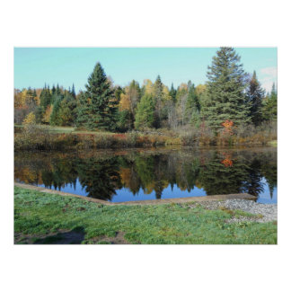 John Brown Farm Historic Adirondack Autumn Grave Poster