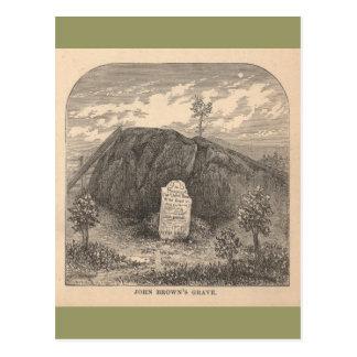 John Brown's Grave Post Card