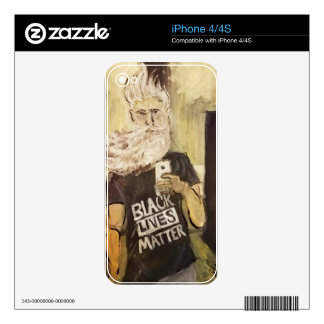 John Brown Selfie/Black Lives Matter iPhone 4 Skins