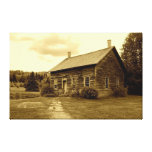 John Brown's House in the Adirondack Mountains Stretched Canvas Print