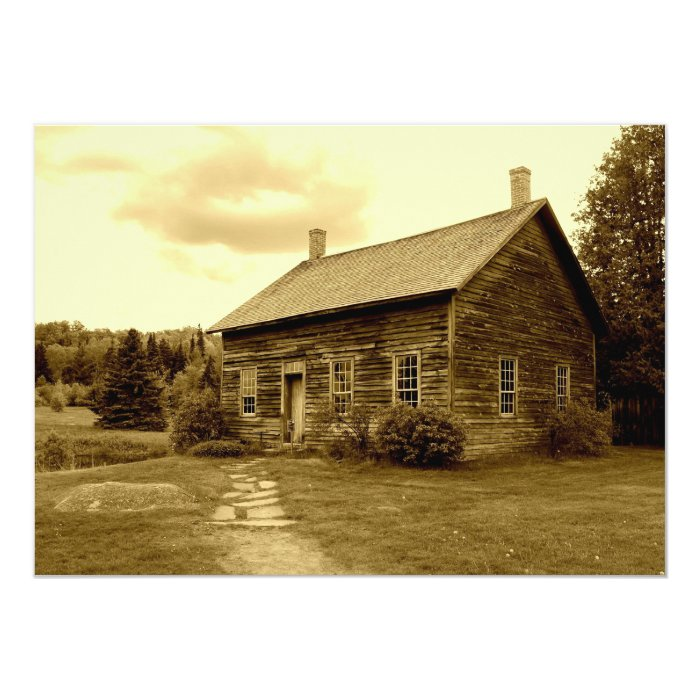 John Brown's House in the Adirondack Mountains Card
