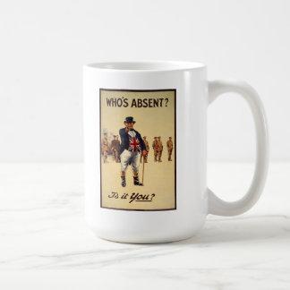 John Bull WW1 Poster Mug
