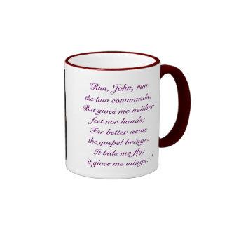 John Bunyan Ringer Coffee Mug
