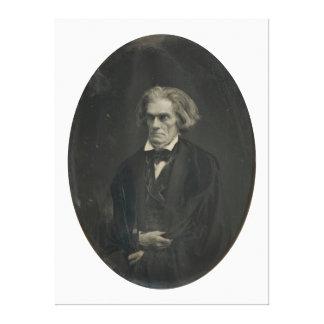 John C. Calhoun by Mathew Brady 1849 Canvas Print