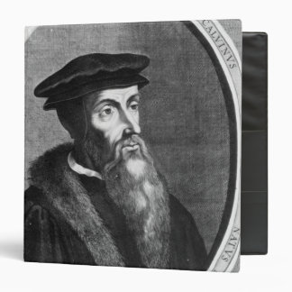 John Calvin 3 Ring Binder