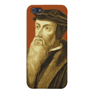 John Calvin iPhone4 Case in Redemption Red