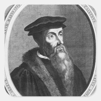John Calvin Square Sticker