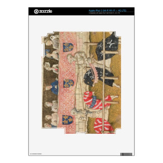 John Chalon of England and Lois de Beul of France iPad 3 Decals