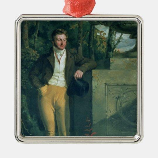 John Charles, 3rd Earl Spencer Metal Ornament