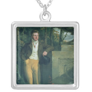 John Charles, 3rd Earl Spencer Square Pendant Necklace