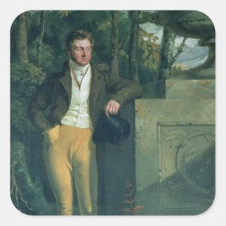 John Charles, 3rd Earl Spencer Square Sticker