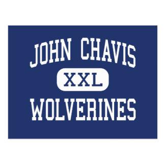 John Chavis Wolverines Middle Cherryville Postcard