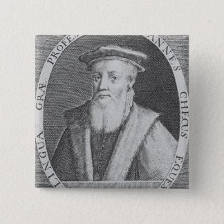 John Cheke, 1620 Pinback Button