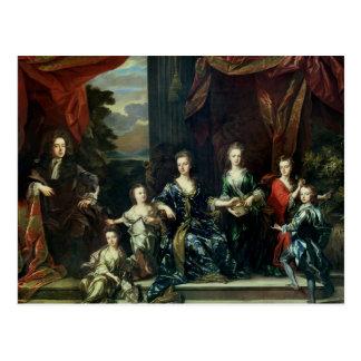 John Churchill 1st Duke of Marlborough Postcard