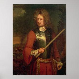 John Churchill  Duke of Marlborough, after 1847 Poster