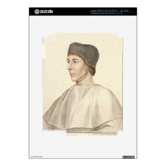John Colet (c.1467-1519), Dean of St. Paul's engra iPad 3 Skin