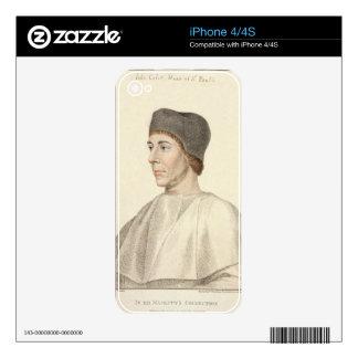 John Colet (c.1467-1519), Dean of St. Paul's engra iPhone 4S Decals