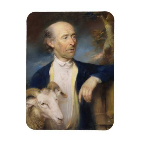 John Collins of Devizes (fl.1771-99) 1799 (pastel Magnet