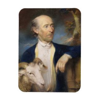 John Collins of Devizes (fl.1771-99) 1799 (pastel Rectangular Photo Magnet