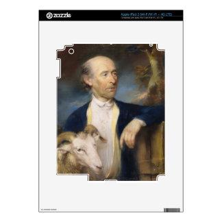 John Collins of Devizes (fl.1771-99) 1799 (pastel Skin For iPad 3