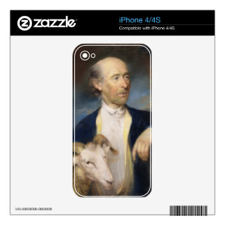John Collins of Devizes (fl.1771-99) 1799 (pastel Skin For iPhone 4S