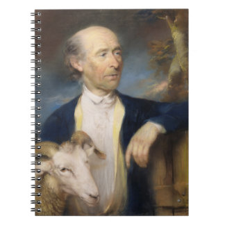 John Collins of Devizes (fl.1771-99) 1799 (pastel Spiral Notebook