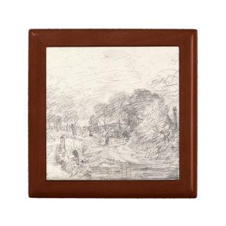 John Constable - A Bridge near Salisbury Court Gift Box