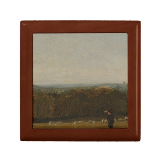 John Constable - A Shepherd in a Landscape Gift Box