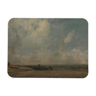 John Constable - A View from Hampstead Heath Magnet