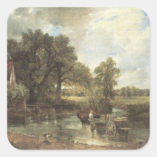 John Constable Art Square Sticker