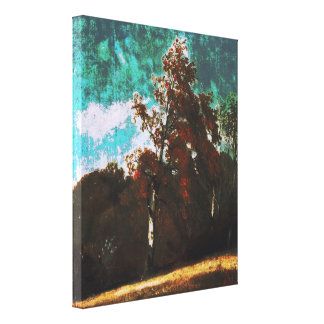 John Constable - Ash Tree (Modified) Canvas Print