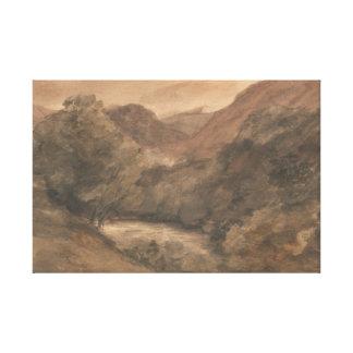John Constable - Borrowdale- Evening after a Fine Canvas Print