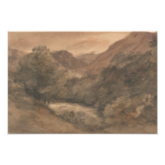 John Constable - Borrowdale- Evening after a Fine Photo Print