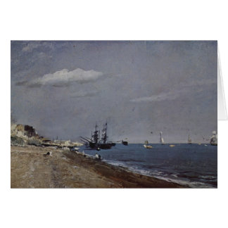 John Constable- Brighton Beach with colliers Greeting Card