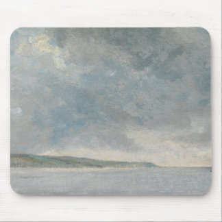 John Constable - Coastal Scene with Cliffs Mouse Pad