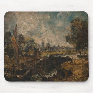 John Constable - Dedham Lock Mouse Pad