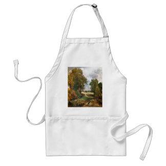 John Constable - el campo de maíz de 1826 Delantal